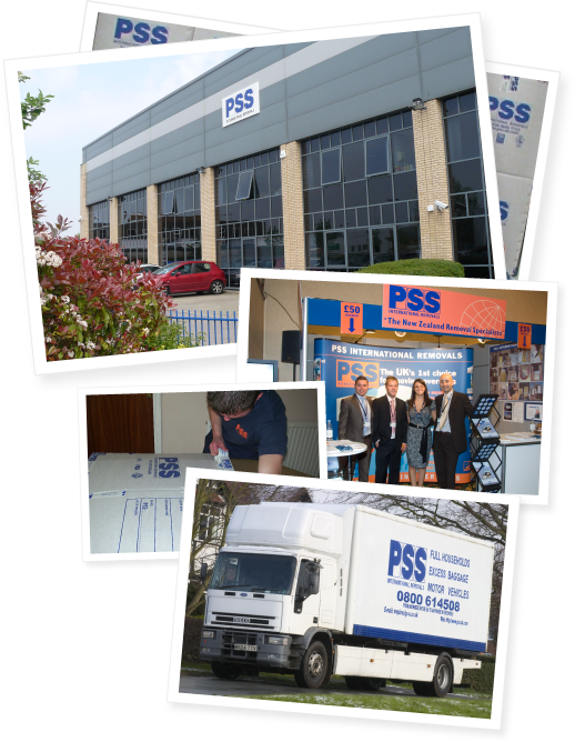 PSS Removals Photo Collage