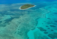 Neal Pritchard: An aerial view of Green Island in Queensland