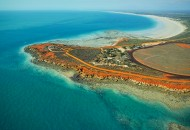 Neal Pritchard: Gantheaume Point in Broome, Western Australia from the air
