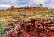 Neal Pritchard: The colourful Karijini Gorge in Western Australia
