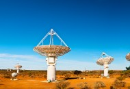 Neal Pritchard: A shot of radio telescopes in the outback